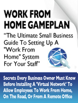 Work From Home Gameplan